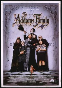 ADDAMS FAMILY ('91) 1sheet