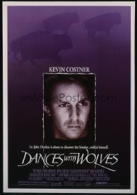 DANCES WITH WOLVES 1sheet