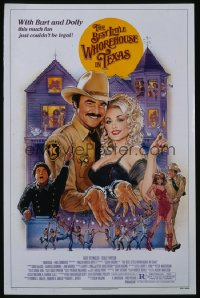 BEST LITTLE WHOREHOUSE IN TEXAS 1sheet