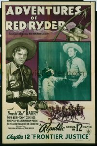067 ADVENTURES OF RED RYDER CH12 1sheet