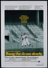 071 BANG THE DRUM SLOWLY 1sheet 1973