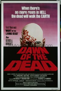 DAWN OF THE DEAD 1sh '79 George Romero