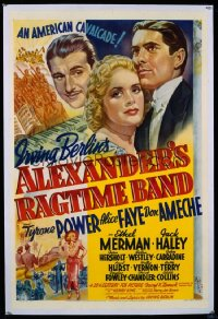 ALEXANDER'S RAGTIME BAND 1sheet
