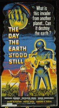 DAY THE EARTH STOOD STILL ('51) standee