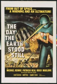 DAY THE EARTH STOOD STILL ('51) 1sheet
