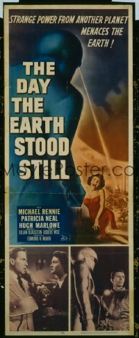 004 DAY THE EARTH STOOD STILL ('51) insert