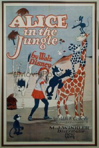 ALICE IN THE JUNGLE 1sheet