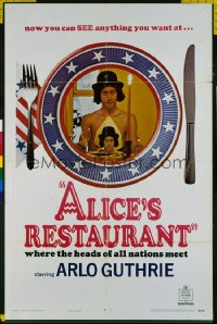 ALICE'S RESTAURANT 1sheet