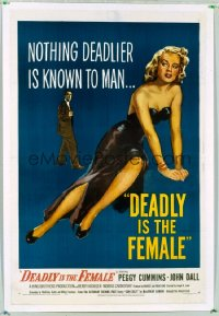 DEADLY IS THE FEMALE 1sheet