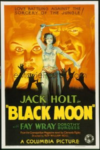 BLACK MOON ('34) 1sheet