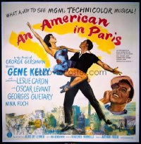 AMERICAN IN PARIS six-sheet