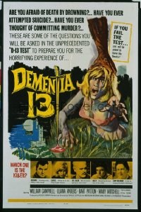 DEMENTIA 13 1sheet