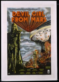 DEVIL GIRL FROM MARS 1sheet