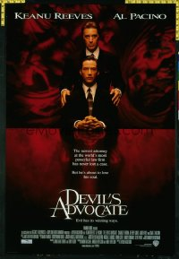 DEVIL'S ADVOCATE ('97) 1sheet