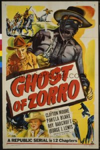 GHOST OF ZORRO ('49) 1sheet