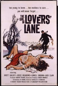 GIRL IN LOVERS' LANE 1sheet