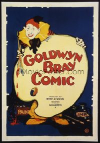 GOLDWYN BRAY COMIC 1sheet