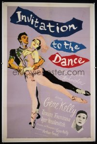 INVITATION TO THE DANCE 1sheet