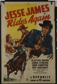 113 JESSE JAMES RIDES AGAIN entire serial 1sheet