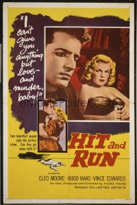 HIT & RUN ('57) 1sheet