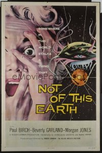 NOT OF THIS EARTH ('57) 1sheet
