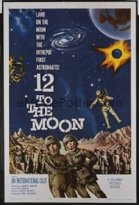 12 TO THE MOON 1sheet