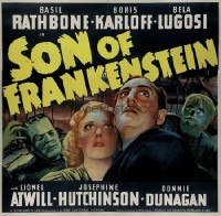 119 SON OF FRANKENSTEIN linen 6sh