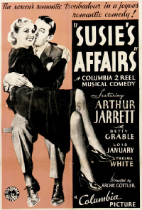 178 SUSIE'S AFFAIRS 1sheet