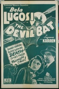 227 DEVIL BAT R46 1sheet