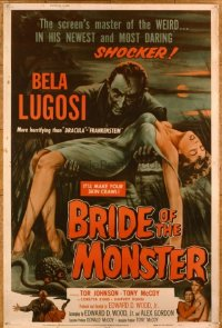 #070 BRIDE OF THE MONSTER 40x60 1956 Ed Wood!