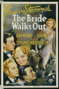 138 BRIDE WALKS OUT linen 1sheet