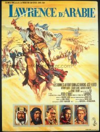#270 LAWRENCE OF ARABIA small French 1962