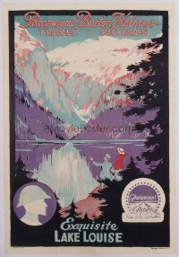 305 EXQUISITE LAKE LOUISE linen 1sheet