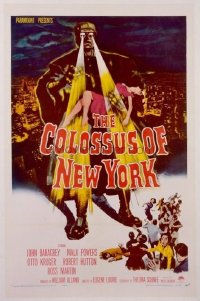 120 COLOSSUS OF NEW YORK 1sheet