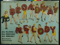 146 BROADWAY MELODY paperbacked 1/2sh