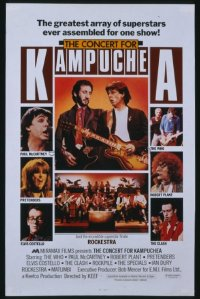 378 CONCERT FOR KAMPUCHEA 40x60
