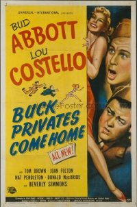 315 BUCK PRIVATES COME HOME 1sheet