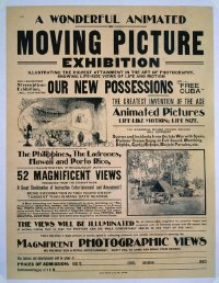 002 MOVING PICTURE EXHIBITION linen special poster