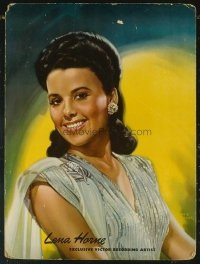 #320 LENA HORNE standee40s glamour portrait!