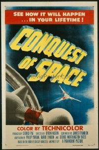 047 CONQUEST OF SPACE 1sheet