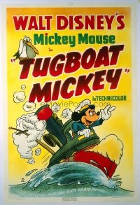 284 TUGBOAT MICKEY linen 1sheet