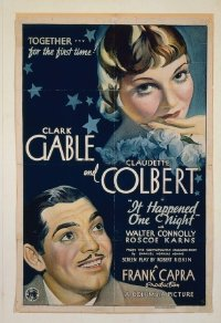 067 IT HAPPENED ONE NIGHT ('34) linen 1sheet