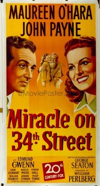 205 MIRACLE ON 34TH STREET ('47) linen 3sh