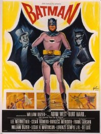 #219 BATMAN French 1p66 Adam West, DC Comics