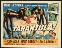 #328 TARANTULA half-sheet movie poster '55 greeat gigantic spider image!!