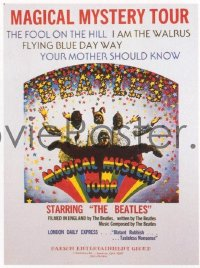 341 MAGICAL MYSTERY TOUR special poster
