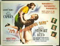 419 IT'S A WONDERFUL LIFE paperbacked 1/2sh