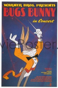 405 BUGS BUNNY IN CONCERT 1sheet