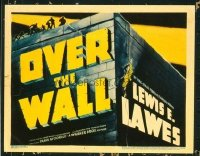1290 OVER THE WALL title lobby card '38 really cool image!