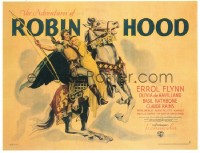 583 ADVENTURES OF ROBIN HOOD linen 1/2sh